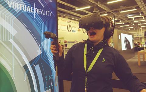Virtuaalitodellisuus ja tuoteuutuudet esillä Gigantin DigiExpo-osastolla