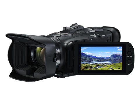 Capture the world in 4K; Canon announces two 4K camcorders, the LEGRIA HF G50 and LEGRIA HF G60