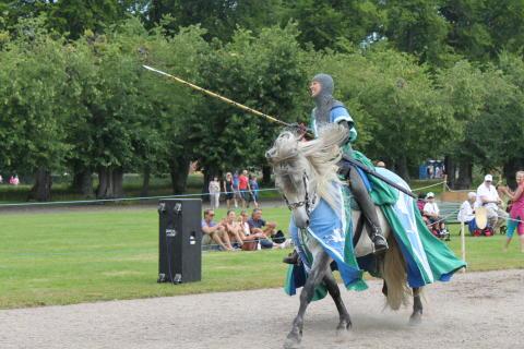 Tornerspelen i samarbete med Nordic Knight på Skoklosters slott
