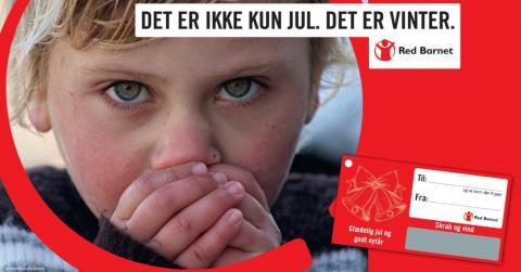 Køb julegaven i JYSK og støt Red Barnet