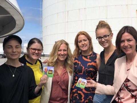 Jämnt på jobbet i Almedalen:  Nu ska vi skapa rätt förutsättningar för fler kvinnor inom bygg!