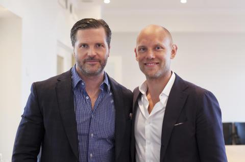 Marcus Lindh och Fredik Söderlindh
