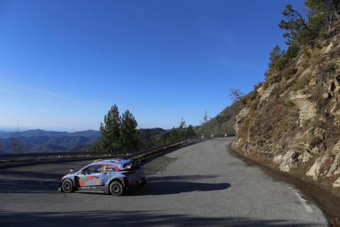 Hyundai Motorsport - 2018 Rallye Monte-Carlo.