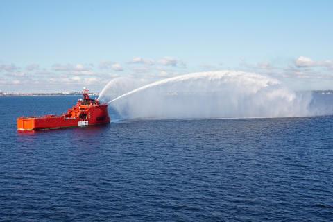 """""""Esvagt Aurora"""" viser arktiske ambitioner"""