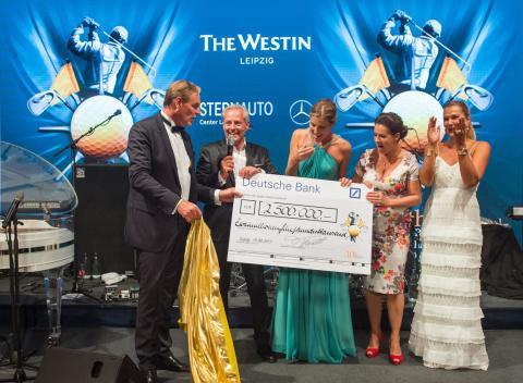 Neuer Spendenrekord bei der 10. Auflage des GRK Golf Charity Masters Leipzig