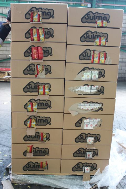 Pallets of pasta cigarette smuggler jailed