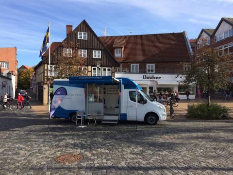 Beratungsmobil der Unabhängigen Patientenberatung kommt am 15. Februar nach Rendsburg