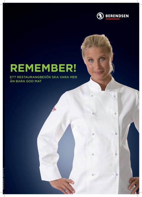 Köks- och serverings kläder - Berendsen i samarbete med Segers