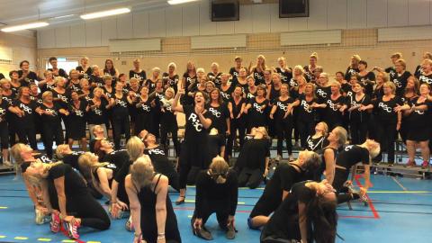 Rönninge Show Chorus VM Repetition