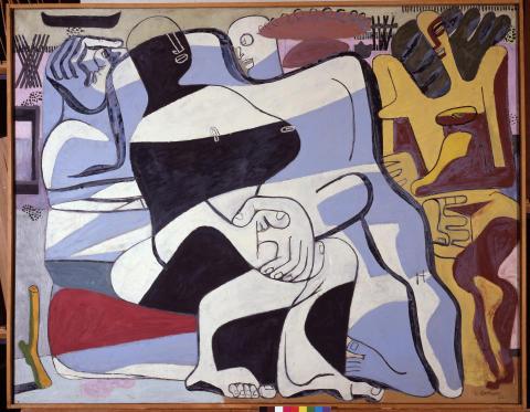 Le Corbusier_ Trois baigneuses_1935_FLCADGAP