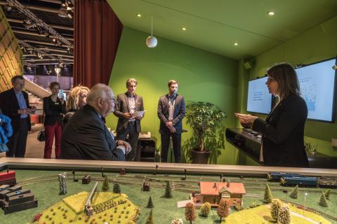 Shifo presents MyChild System to Nobel Laureate Professor Angus Deaton