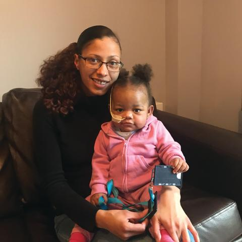 One year old Zariah receives lifesaving donor heart after seven month wait