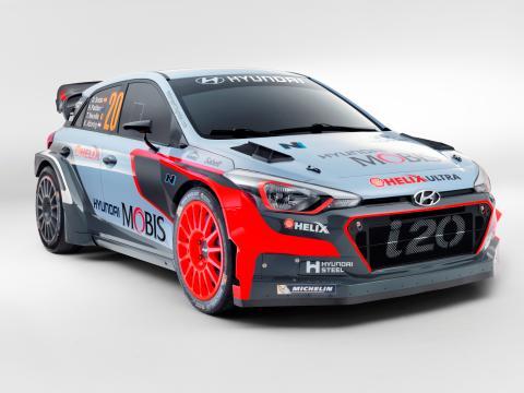 Hyundai kör med tre nya generationens i20 WRC på Rally Sweden – för första gången någonsin