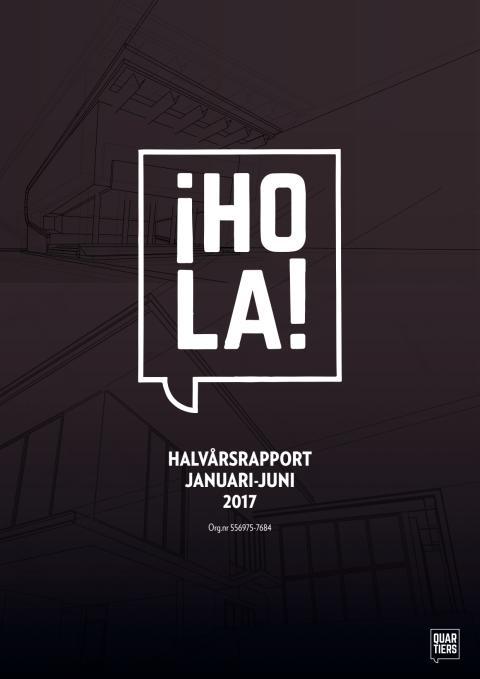 Quartiers Properties - Halvårsrapport 2017
