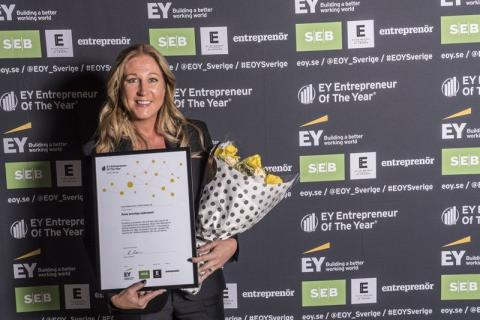 EY Entrepeneur of the year - Linda Sätterström