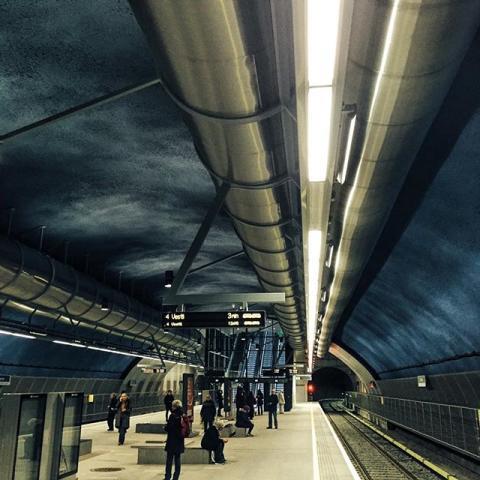 Sporveien nominert til årets lyspris for Løren stasjon