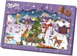 Odkryj magię oczekiwania na święta z kalendarzem adwentowym Milka!