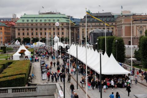 Blocketloppis - stor folkfest på lördag utanför Slottet