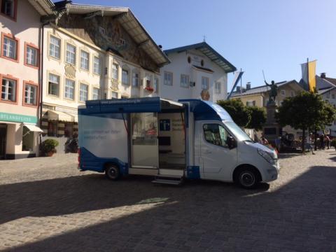 Beratungsmobil der Unabhängigen Patientenberatung kommt am 15. November nach Bad Tölz.