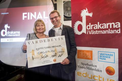 Vinnaren av Drakarna i Västmanland 2013