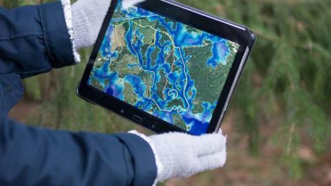 Markfuktighetskartor minskar allvarliga körskador i skogen
