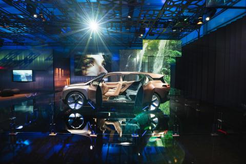 BMW Group på elektronikmessen CES i Las Vegas