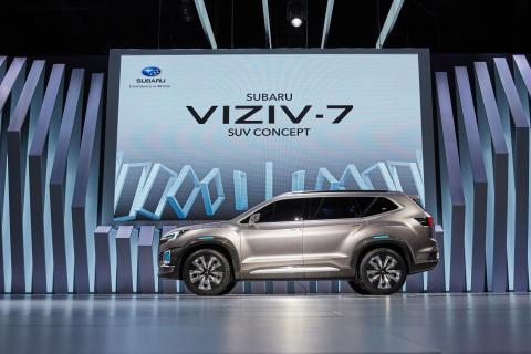 Suurin Subaru koskaan esiteltiin Los Angelesissa