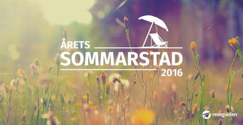Nu börjar omröstningen av Årets Sommarstad 2016