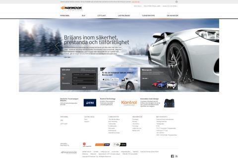 Hankook lanserar en ny hemsida för Europa