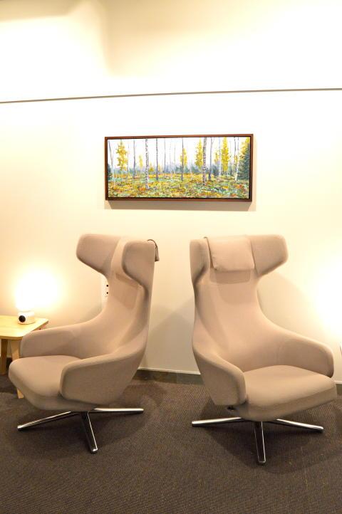 SJs lounge i Stockholm
