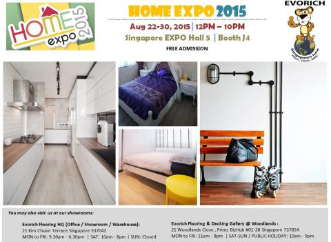 Evorich Flooring Group at Home Expo 2015