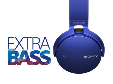 Basso on kaiken ydin – Sony esittelee EXTRA BASS™i -äänentoistomalliston