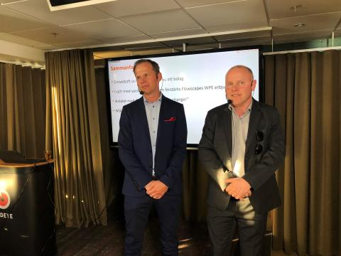 """Flowscape's CEO at Redeye's investor meeting on the new Ericsson partnership agreement: """"It's a game changer"""""""