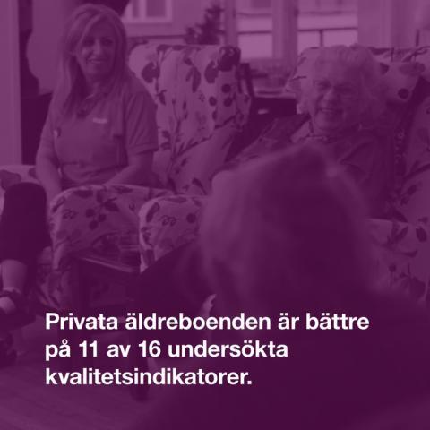 Vårdföretagarnas mytkalender: De äldre drabbas mest negativt med privata alternativ (myt 16)