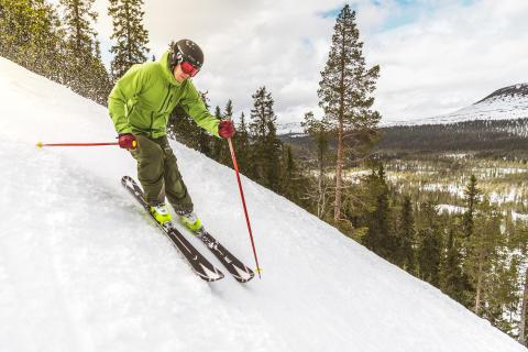 Svensk snefald: Skiferie allerede i efterårsferien