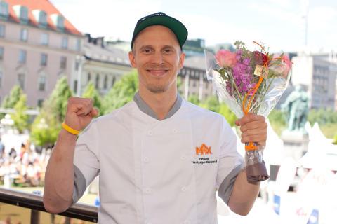 Vinnaren av Hamburger-SM: Jens Drugge