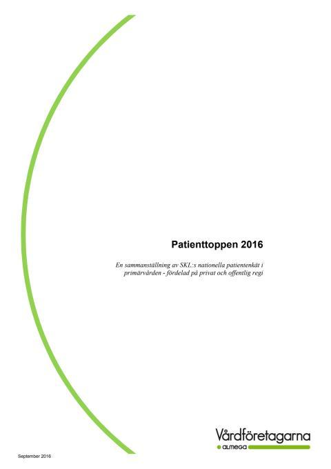 Patienttoppen 2016