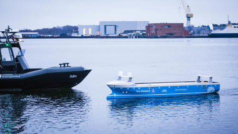 Kongsberg Maritime: New Norwegian Autonomous Shipping Test-Bed Opens