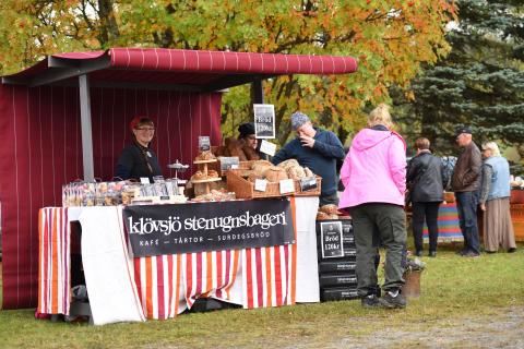Höstmarknad i Klövsjö