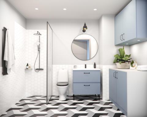 Pumphuset badrum