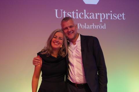 Polly Higgins och advokat Johan Öberg
