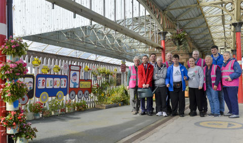Virgin Trains creates a buzz at Penrith station with new bee garden