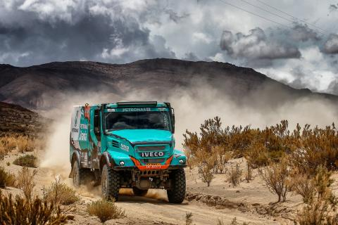 Team PETRONAS De Rooy IVECO är redo för Dakar 2018 och Africa Eco Race 2018