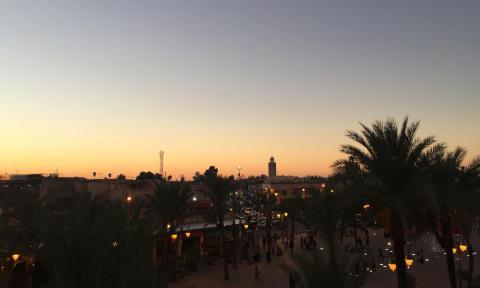 Kosybar Marrakech sunset_Source NOSADE