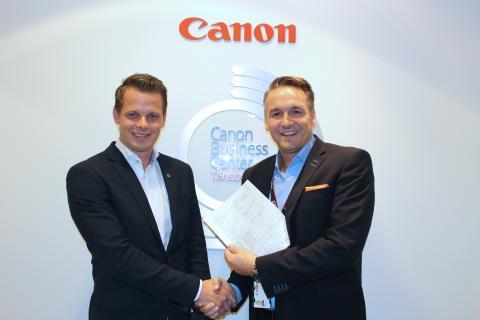 Jørgen Lysnes, daglig leder i UTD sammen med Lars Dybwad i Canon Norge