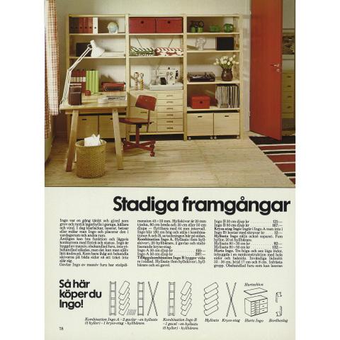 INGO: IKEA katalogside 1977