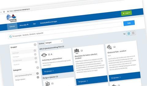 Nu blir Lidköpings kommuns digitala självservice enklare