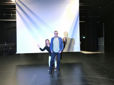 Pressinbjudan: Invigning av Lokstallarnas nya dansscen