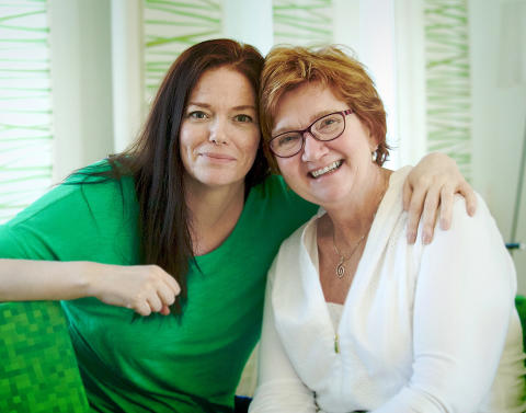 Fia Erixon och Vivi-Anne Segertoft