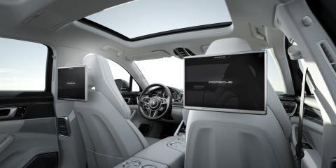 Interior Panamera Turbo Executive